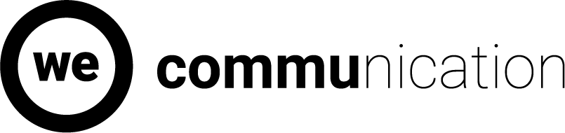 We Communication Logo