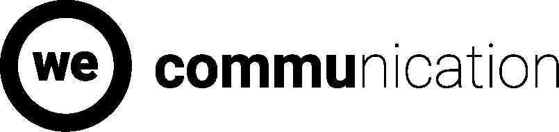 We Communication Logo